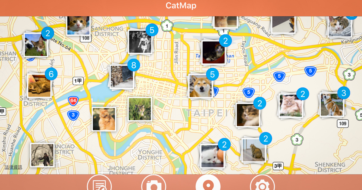 CatMap - OA Wu's Blog