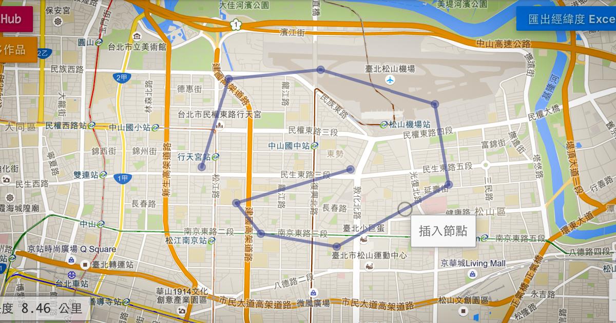 實作 Google Maps 右鍵選單 - OA Wu's Blog