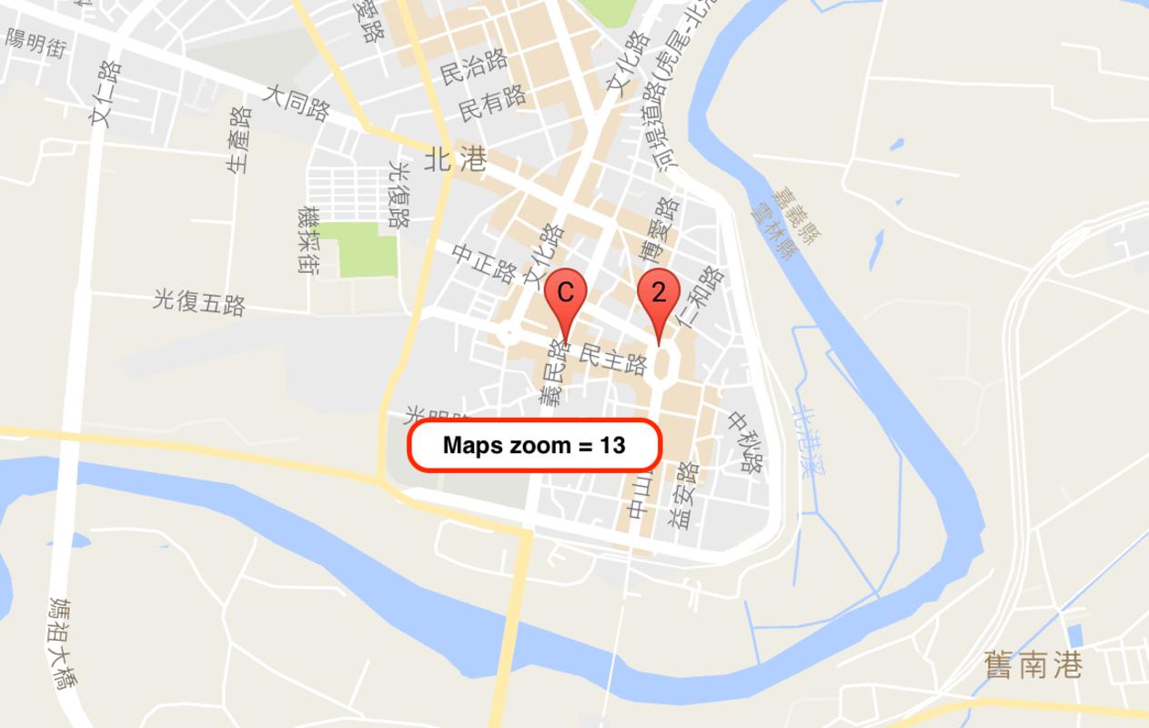 Google Maps 標記叢集 Marker Clustering