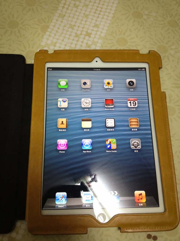 配備 Retina 顯示器的 iPad